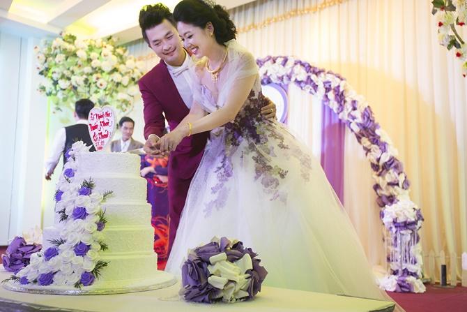 Những hình ảnh đẹp trong đám cưới cuối năm của showbiz Việt - Ảnh 8