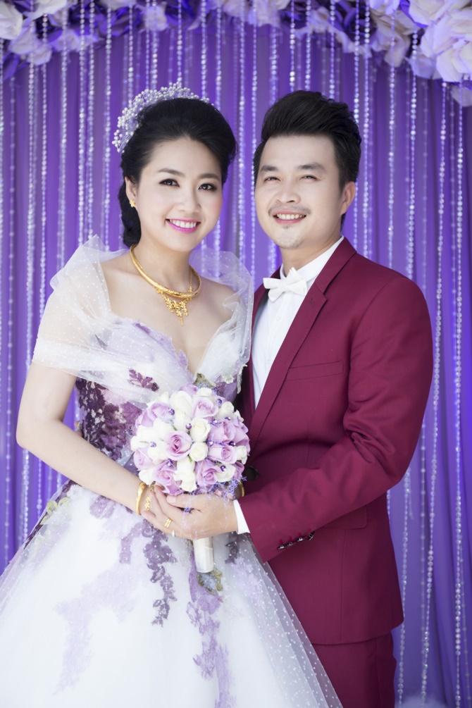 Những hình ảnh đẹp trong đám cưới cuối năm của showbiz Việt - Ảnh 7