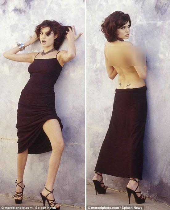 Loạt hình táo bạo chưa từng công bố của Angelina Jolie - Ảnh 6