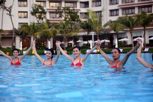 """Hoa hậu Việt Nam: """"Người Đẹp Biển"""" khoe sắc tại Vinpearl Phú Quốc - Ảnh 5"""