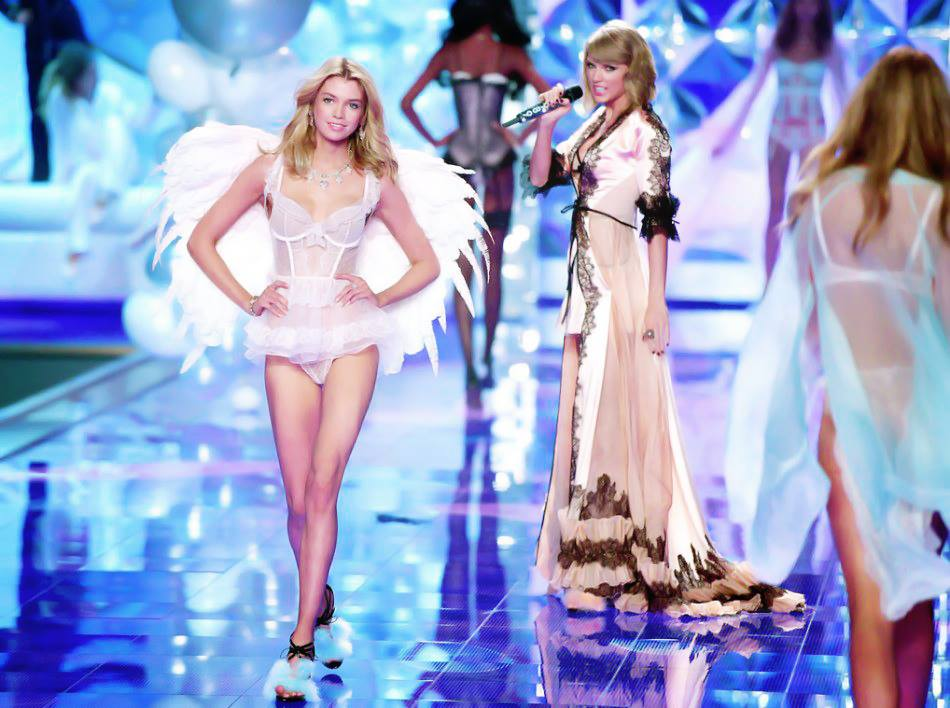 Victoria's Secret Fashion Show 2014:Thiên thần lung linh tỏa sáng - Ảnh 10