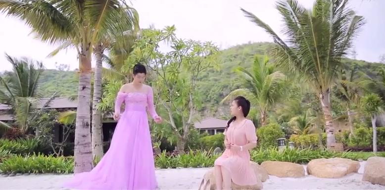 Chồng Nhật Kim Anh hóa thiếu nữ thướt tha - Ảnh 5