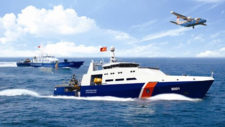 'Sử dụng cảnh sát biển phù hợp với tình hình thực tế' - Ảnh 1