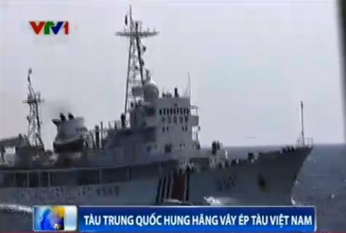 Tình hình Biển Đông mới nhất: Tàu TQ hung hăng vây ép tàu VN - Ảnh 1