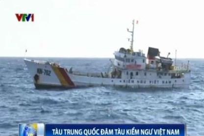 Tin tức Biển Đông mới nhất:Tàu TQ đâm gãy lan can tàu kiểm ngư VN - Ảnh 1