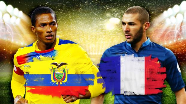 Dự đoán tỷ số trận Pháp đấu với Ecuador 03h ngày 26/6 - Ảnh 1