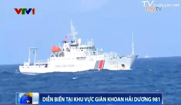 Tình hình biển Đông mới nhất:Tàu TQ dụ tàu VN vào gần để tấn công - Ảnh 1