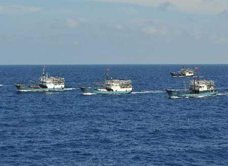 Tình hình Biển Đông: Toàn bộ tàu cá TQ di chuyển về đảo Hải Nam - Ảnh 1