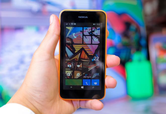 Hình ảnh thực tế của Lumia 530 tại Việt Nam - Ảnh 1