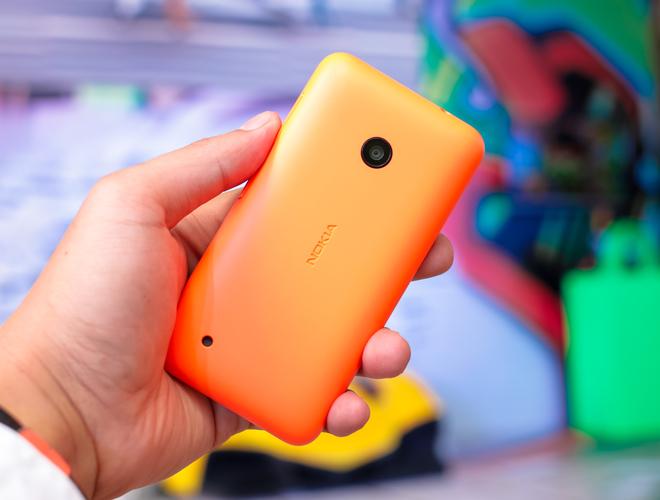 Hình ảnh thực tế của Lumia 530 tại Việt Nam - Ảnh 2