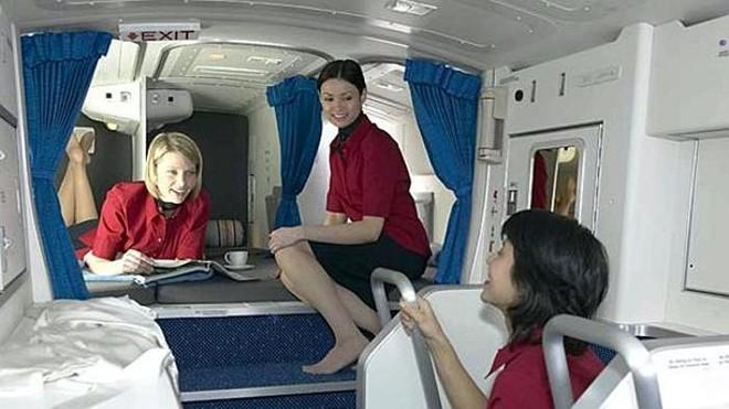 Khoang bí mật mọi hãng hàng không đều muốn giấu kín - Ảnh 1