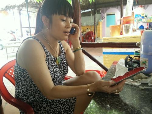 Điện thoại Trung Quốc phát nổ, một phụ nữ bị bỏng - Ảnh 6