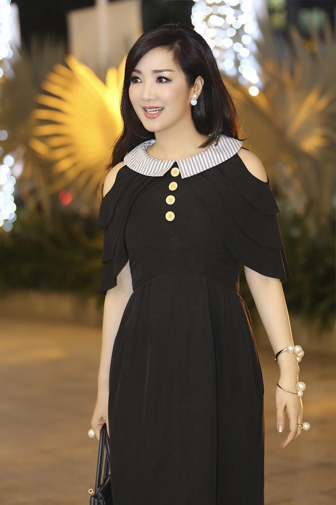 """Hoa hậu Giáng My trẻ trung, quá đẹp tại """"Sao Việt toàn năng"""" - Ảnh 7"""