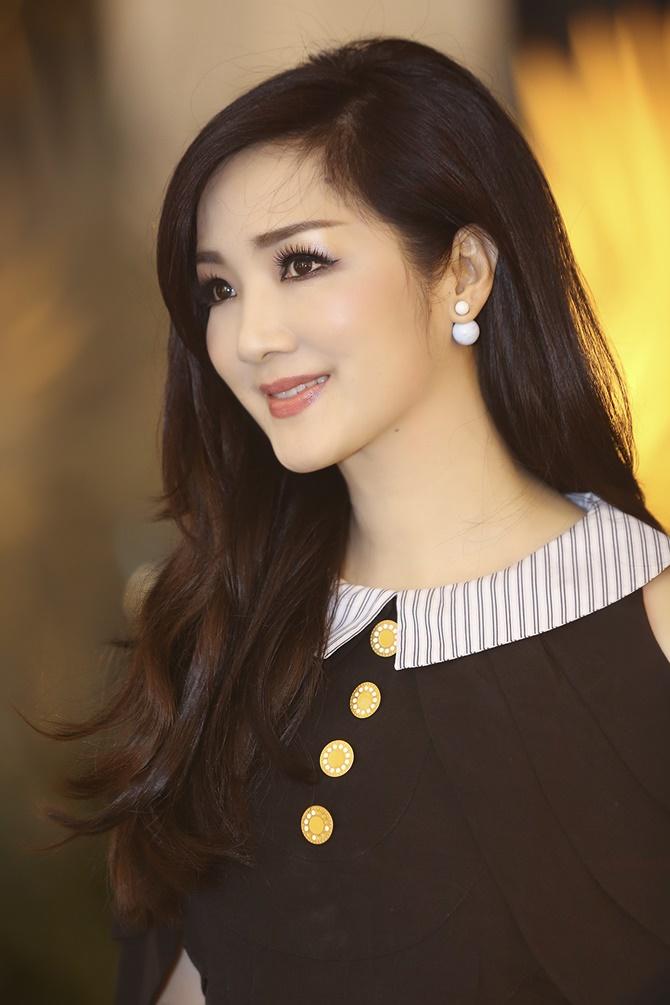 """Hoa hậu Giáng My trẻ trung, quá đẹp tại """"Sao Việt toàn năng"""" - Ảnh 8"""