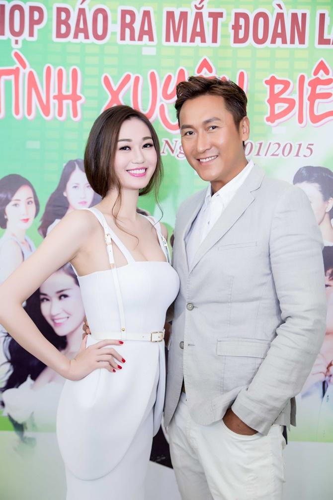 """Khánh My có """"phim giả tình thật"""" với tài tử Mã Đức Chung? - Ảnh 2"""
