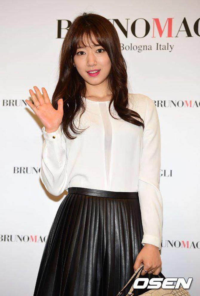 Park Shin Hye xinh lung linh không thể rời mắt - Ảnh 1