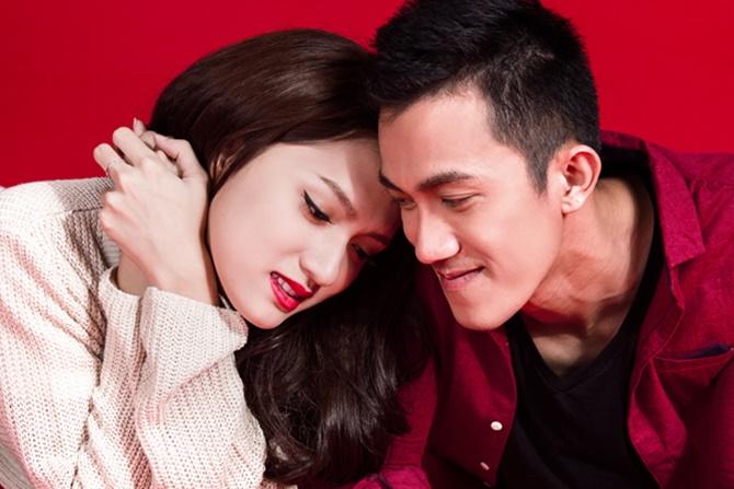 Hương Giang Idol tỏ tình với bạn trai bằng ca khúc ngày Valentine - Ảnh 1