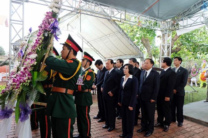 Lãnh đạo Đảng, Nhà nước viết gì trong sổ tang viếng ông Thanh? - Ảnh 4