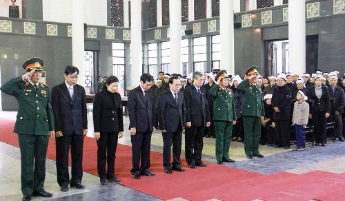 Cử hành trang trọng Lễ tang Trung tướng Đàm Văn Ngụy - Ảnh 1
