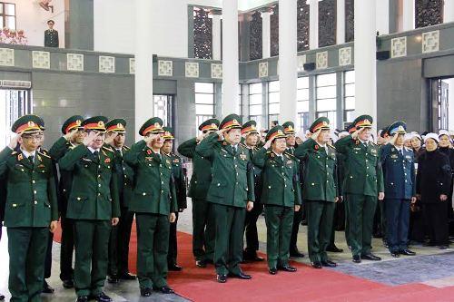 Cử hành trang trọng Lễ tang Trung tướng Đàm Văn Ngụy - Ảnh 2
