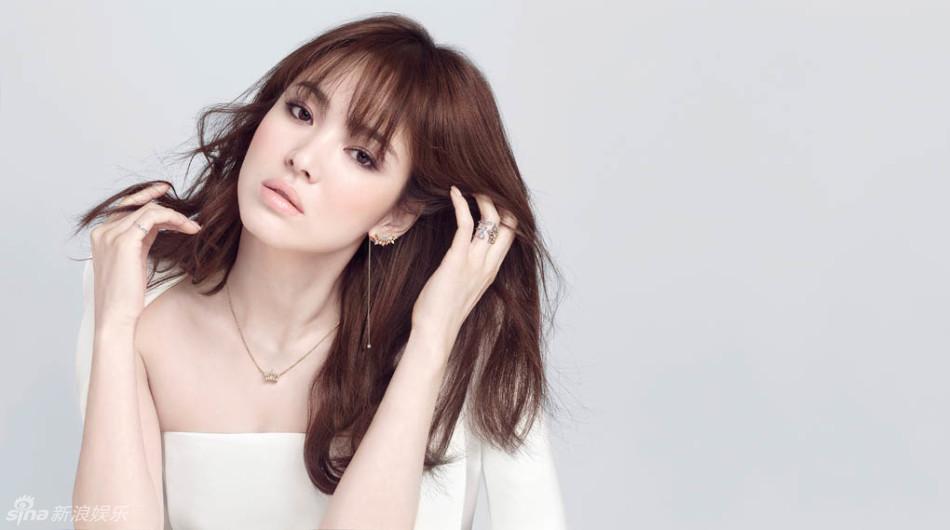 Vẻ đẹp lung linh thanh khiết của Song Hye Kyo - Ảnh 4