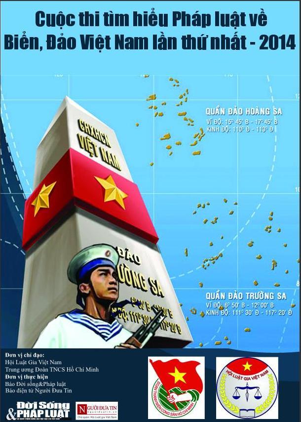 """Mời tham gia cuộc thi """"Tìm hiểu pháp luật về biển, đảo Việt Nam"""" - Ảnh 1"""