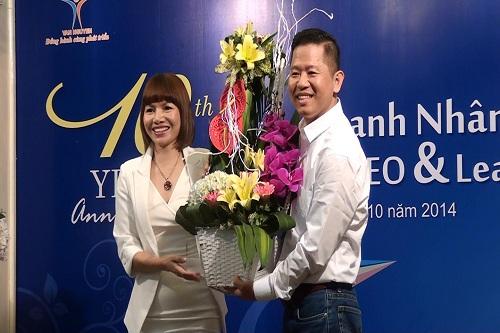Giao lưu chào mừng kỷ niệm 10 năm ngày doanh nhân Việt Nam - Ảnh 1