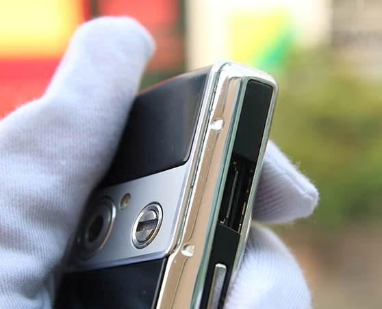 Choáng Samsung Ego S9402 mạ vàng bạch kim, giá gấp 3 iPhone6 Plus - Ảnh 5