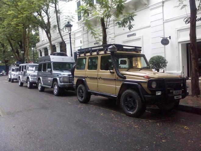 10 chiếc Mercedes G-Class xuyên thế giới đến Hà Nội - Ảnh 3