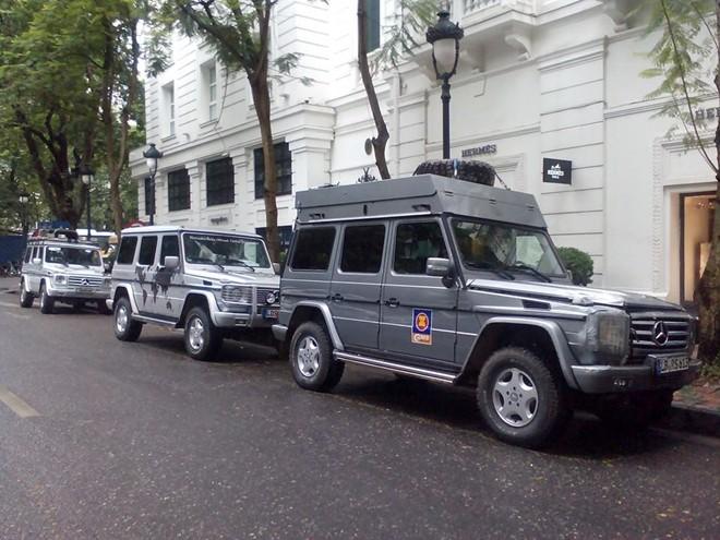 10 chiếc Mercedes G-Class xuyên thế giới đến Hà Nội - Ảnh 6