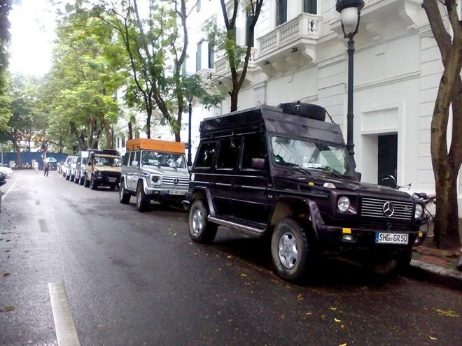 10 chiếc Mercedes G-Class xuyên thế giới đến Hà Nội - Ảnh 7