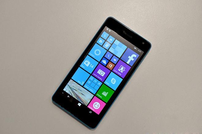Ảnh thực tế Lumia 535 giá 2,7 triệu đồng - Ảnh 1