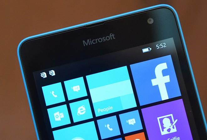 Ảnh thực tế Lumia 535 giá 2,7 triệu đồng - Ảnh 8
