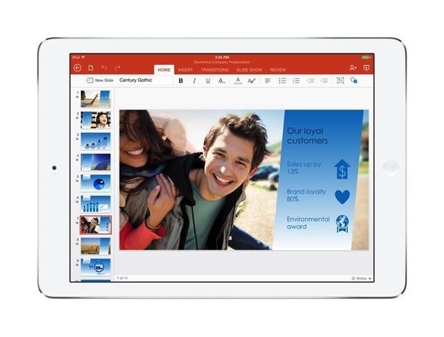 Microsoft bất ngờ miễn phí Office cho iPad - Ảnh 1
