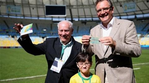 Câu chuyện kì diệu về chiếc vé xem trận chung kết World Cup 1950 - Ảnh 1
