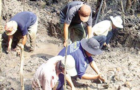 Huyền sử kho báu vàng tấn trên đất Việt - Ảnh 1