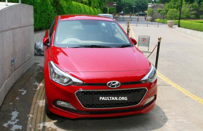 Cận cảnh xe giá rẻ Hyundai Elite i20 2015 mới - Ảnh 6