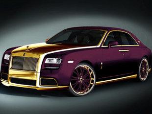 Rolls Royce Phantom bọc 120kg vàng khối trị giá 170 tỷ đồng - Ảnh 4