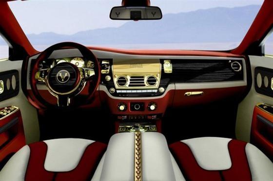 Rolls Royce Phantom bọc 120kg vàng khối trị giá 170 tỷ đồng - Ảnh 3