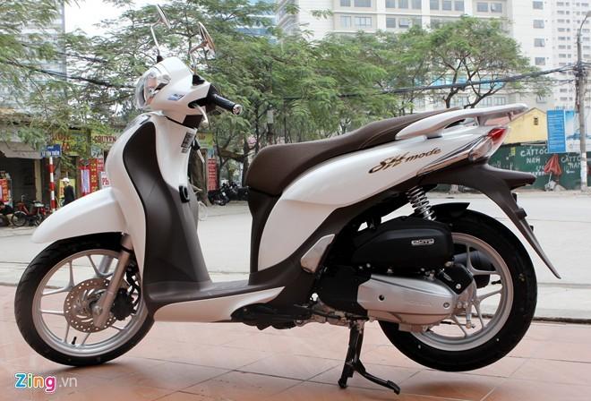 Những mẫu xe máy có màu mới vừa bán ở Việt Nam - Ảnh 2