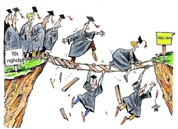 Tốt nghiệp đại học: Từ khát vọng vàng đến ác mộng thất nghiệp - Ảnh 1