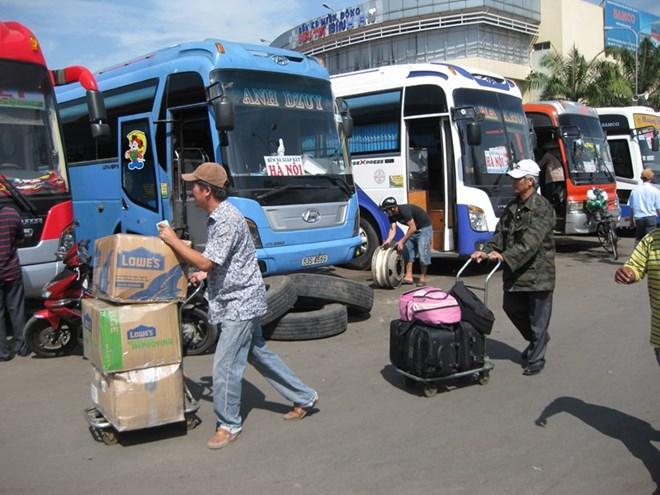 Giá vé xe tết Nguyên Đán tại TPHCM đi các tỉnh sẽ tăng 20-60% - Ảnh 1