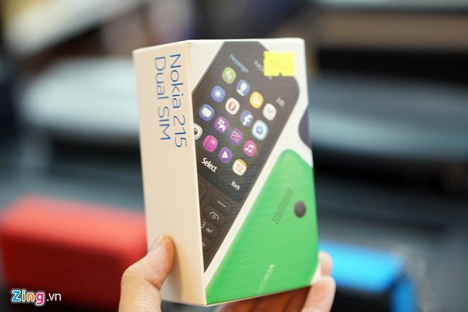Mở hộp Nokia 215 pin chờ 27 ngày giá 790.000đ - Ảnh 1
