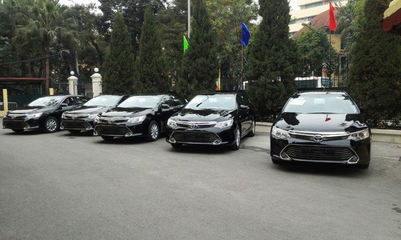 Toyota Camry 2015 xuất hiện ở Việt Nam - Ảnh 1