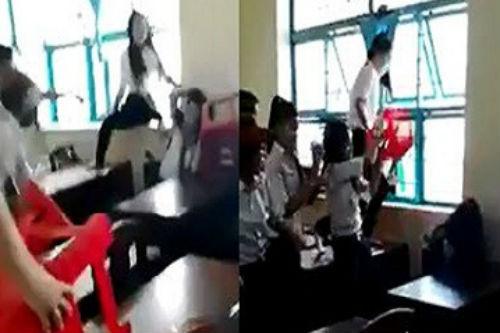 Nữ sinh bị đánh hội đồng ở Trà Vinh: Đề xuất đuổi học 2 nam sinh - Ảnh 1