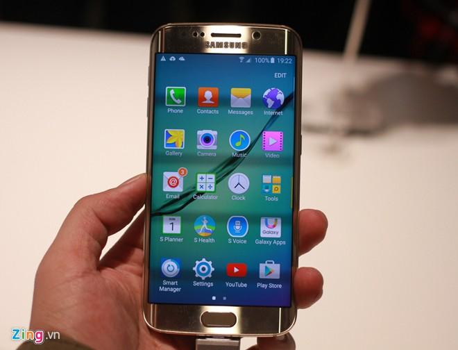 Cận cảnh Samsung Galaxy S6 Edge - Ảnh 1