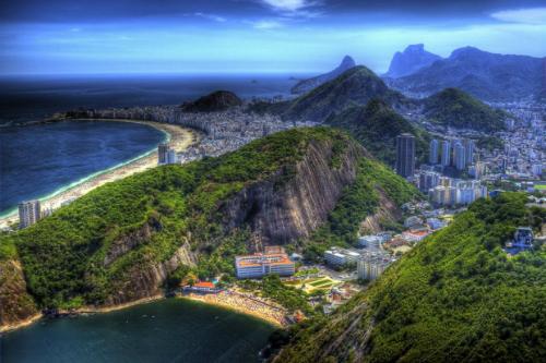 Những hình ảnh tuyệt đẹp của thành phố Rio de Janeiro - Ảnh 1
