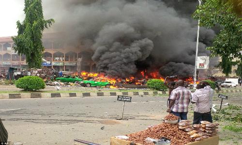 Nổ bom ở Nigeria: Ít nhất 21 người thiệt mạng vì World Cup - Ảnh 1