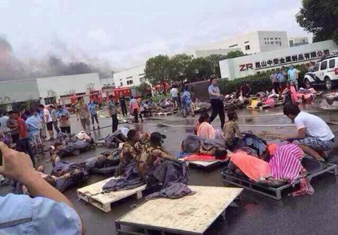 Nổ nhà máy ở Trung Quốc: 69 người chết, 150 người bị thương - Ảnh 1