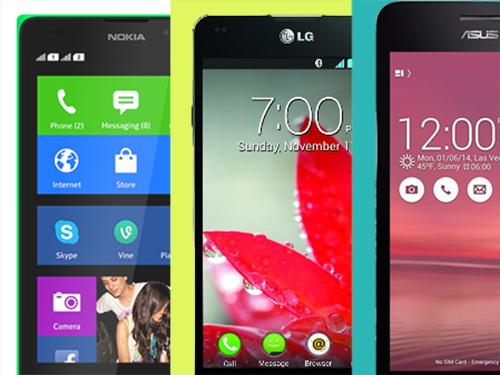 So sánh 3 smartphone tầm trung: Zenfone 5, Optimus G, Nokia XL - Ảnh 1